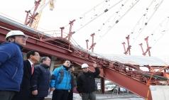 평창올림픽 경기장, 준비 상황 점검 나서