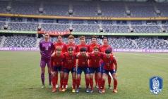 여자대표팀, 멕시코에 0-2 패...4개국 대회 '1승 1패'